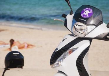 Tu moto en el corazón de Pujols